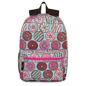 Donut Sweets Backpack Kids School Bag Doughnuts